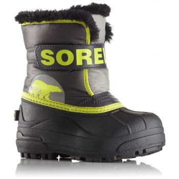 Sorel NC1877 - CHILDRENS SNOW COMMANDER™, dječje cipele, siva
