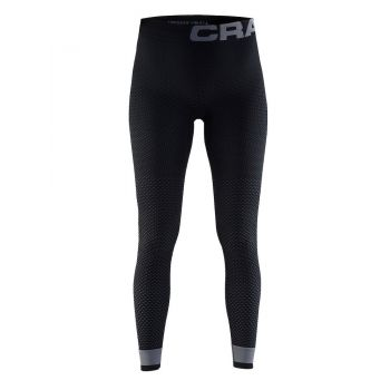 Craft WARM INTENSITY PANTS W, ženske fitnes hlače, crna