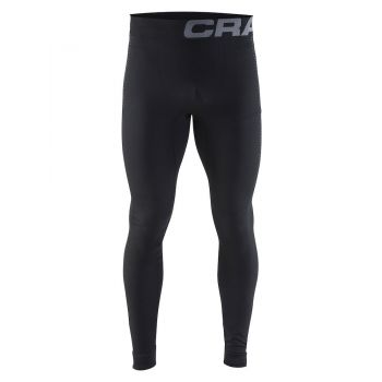 Craft WARM INTENSITY PANTS M, muške tajice za fitnes, crna