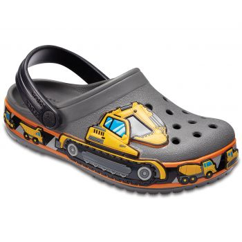 Crocs KIDS' CROCBAND™ FUN LAB GRAPHIC CLOGS, dječje natikače