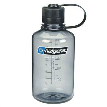 Nalgene NARROW MOUTH, boca, siva