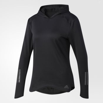 Adidas RS CLIMA HOODIE BLACK, pulover, crna