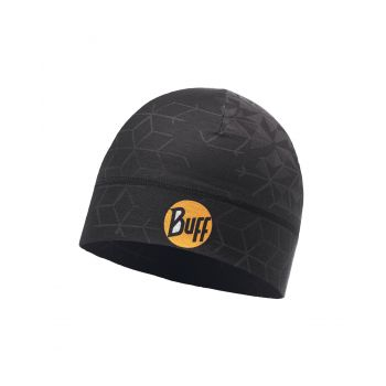 Buff MICROFIBER 1 LAYER HAT HELIX BLACK, kapa, crna