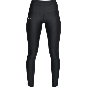 Under Armour ARMOUR FLY FAST TIGHT-BLK/BLK/REF, ženske tajice za trčanje, crna