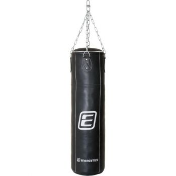 Energetics PUNCHING BAG LEATHER 108CM TN, vreča boks, crna