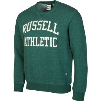 Russell Athletic CREW NECK TACKLE TWILL SWEATSHIRT, muški pulover, zelena