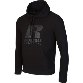 Russell Athletic PULL OVER HOODY, muški pulover, crna