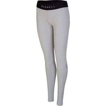 Russell Athletic LEGGING - VERTICAL PRINT DETAIL, ženske tajice, siva
