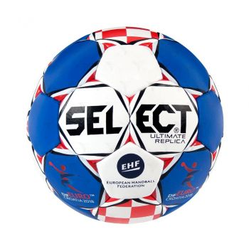 Select HB ULTIMATE REPLICA EC CROATIA 2018, lopta rukometna, plava