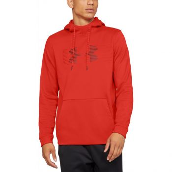Under Armour AF SPECTRUM PO HOODIE, muški pulover, crvena