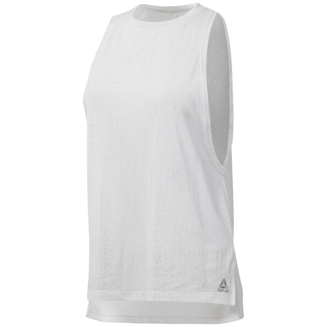 Reebok OS BO TANK, majica, bijela