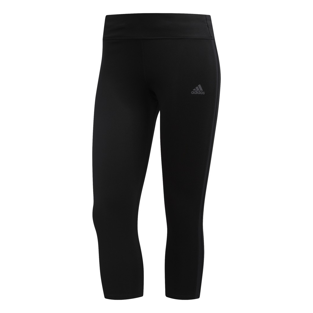 adidas OWN THE RUN TGT, ženske tajice za trčanje, crna
