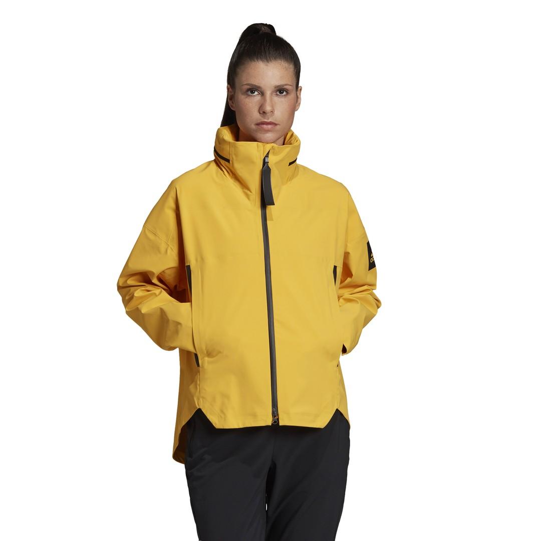 adidas W MYSHELTER JKT, ženska jakna za planinarenje, žuta