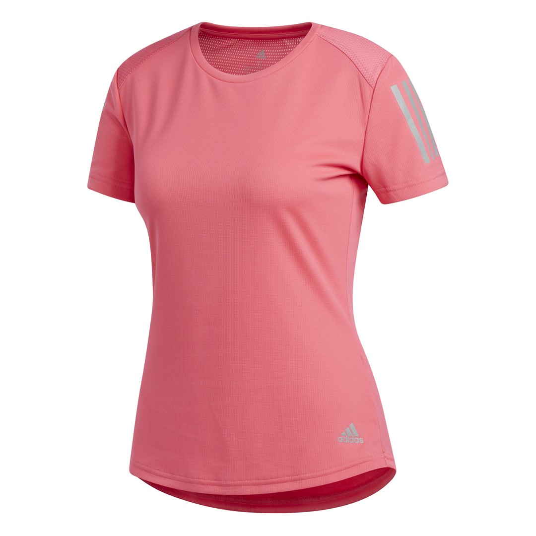 adidas OWN THE RUN TEE, ženska majica za trčanje, roza