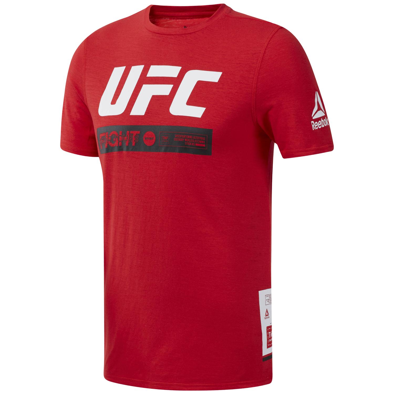 Reebok UFC FG FIGHT WEEK T, majica, crvena