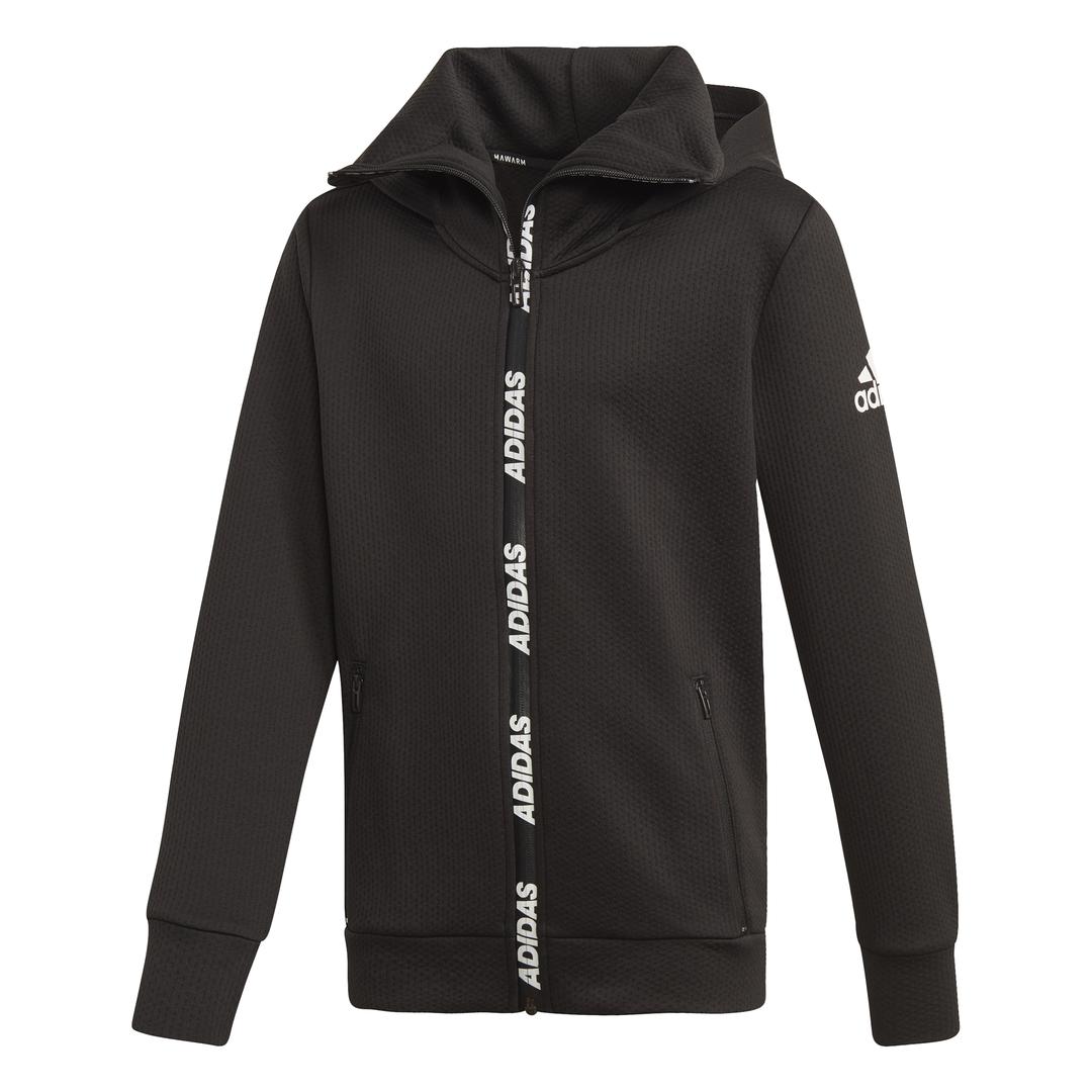 adidas YB TR WARM HD, dječja jakna za fitnes, crna