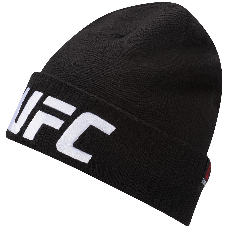 Reebok UFC BEANIE (LOGO), muška kapa za fitnes, crna