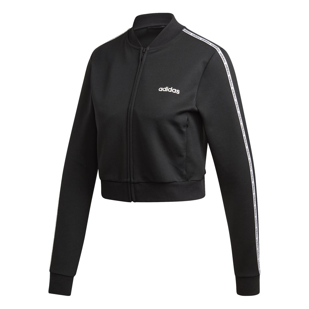 adidas W C90 TRACKTOP, ženska jakna za fitnes, crna