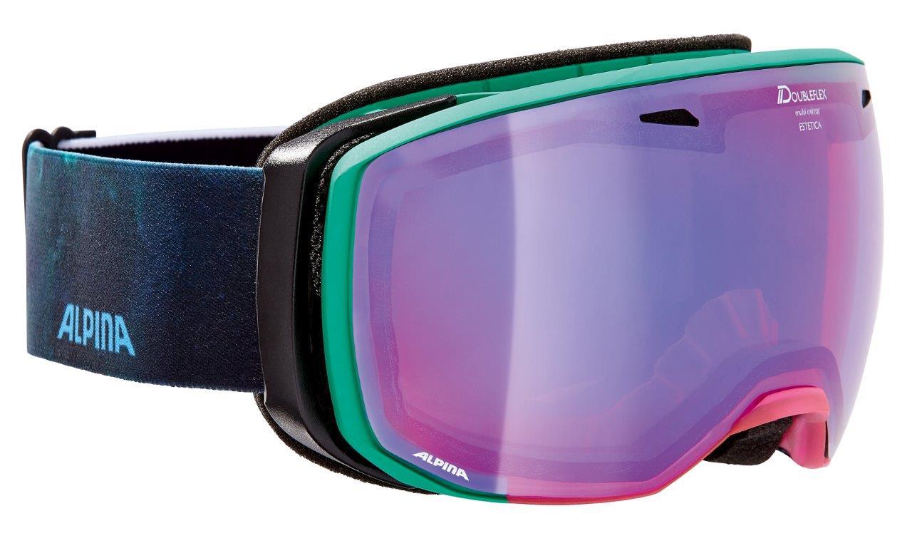 Alpina ESTETICA HM, skijaške naočale, zelena