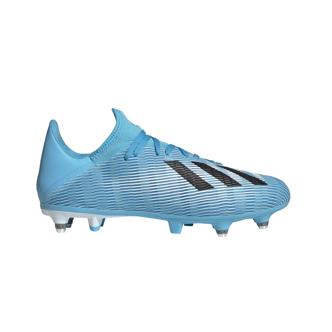 adidas X 19.3 SG, muške kopačke za nogomet, plava