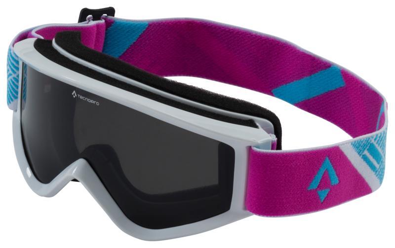 Tecnopro FREEZE 2.0, dječje skijaške naočale, bijela