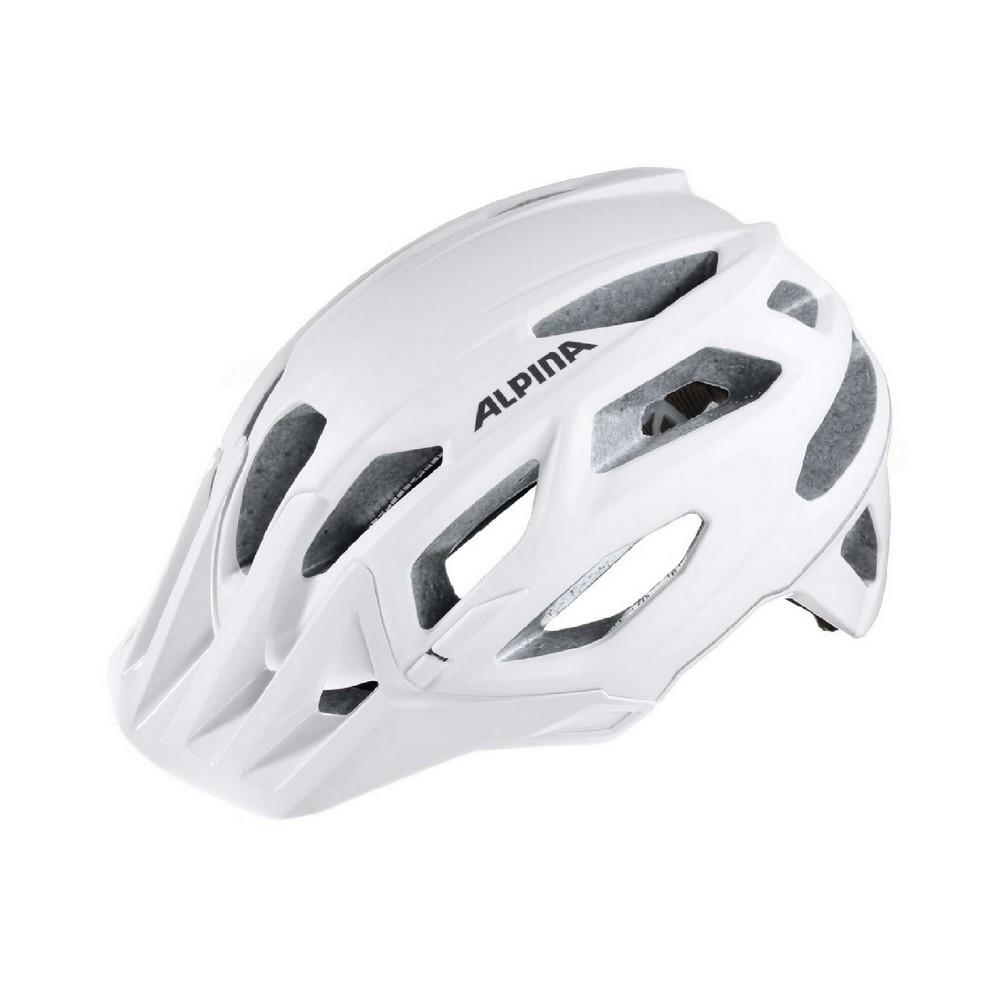 Alpina GARBANZO, biciklistička kaciga, bijela