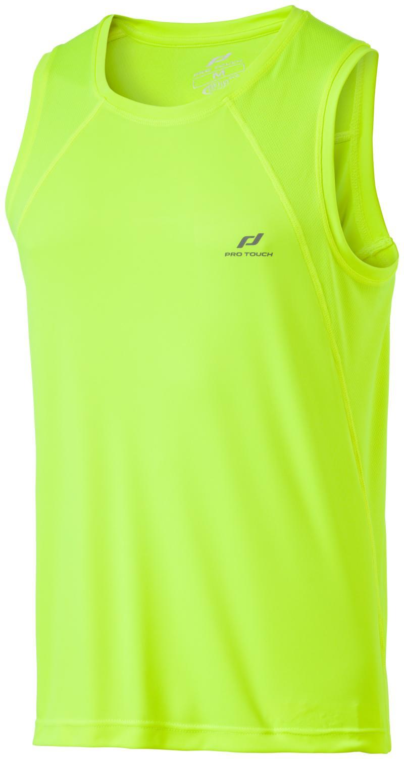 Pro Touch IKAROS II UX, muška majica za trčanje, žuta