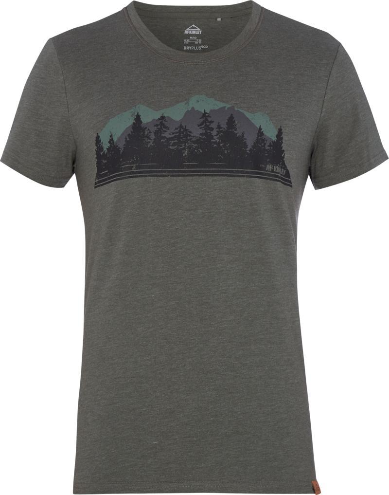 McKinley JOLLY UX, muška majica za planinarenje, siva