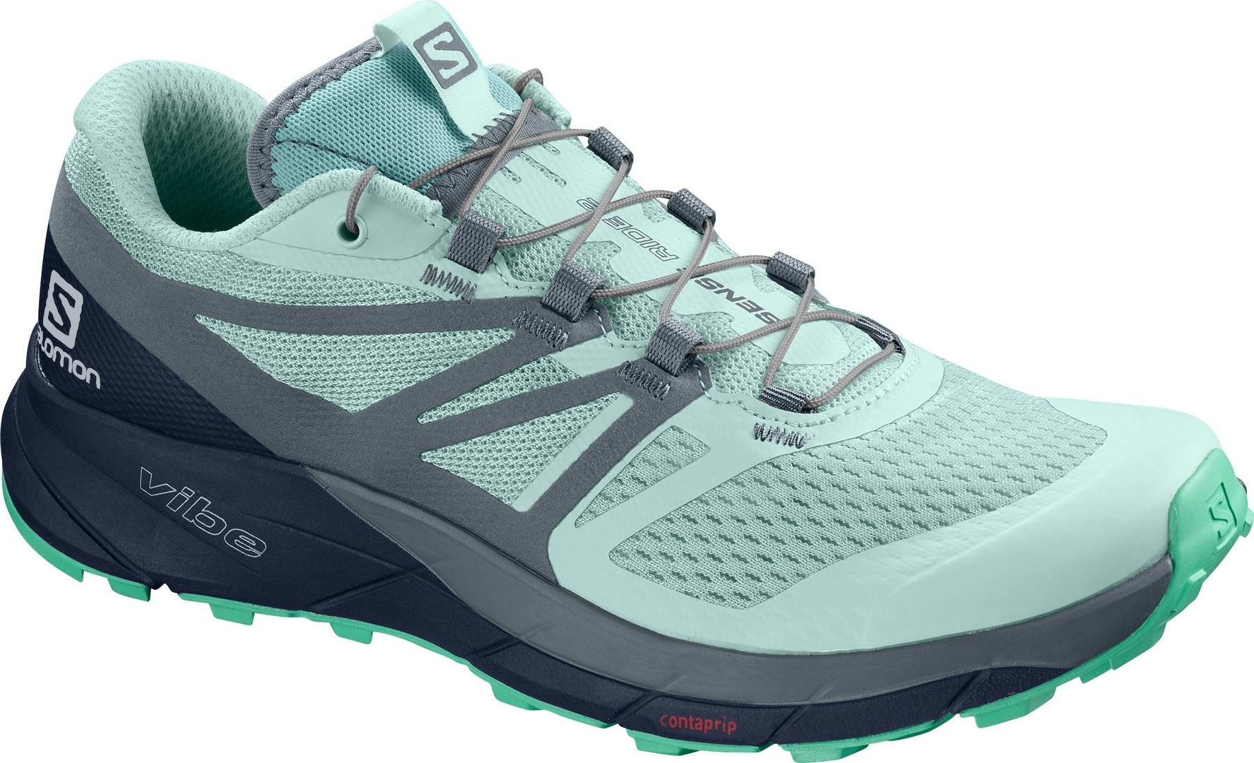 Salomon SENSE RIDE 2 W, ženske tenisice za trčanje, zelena