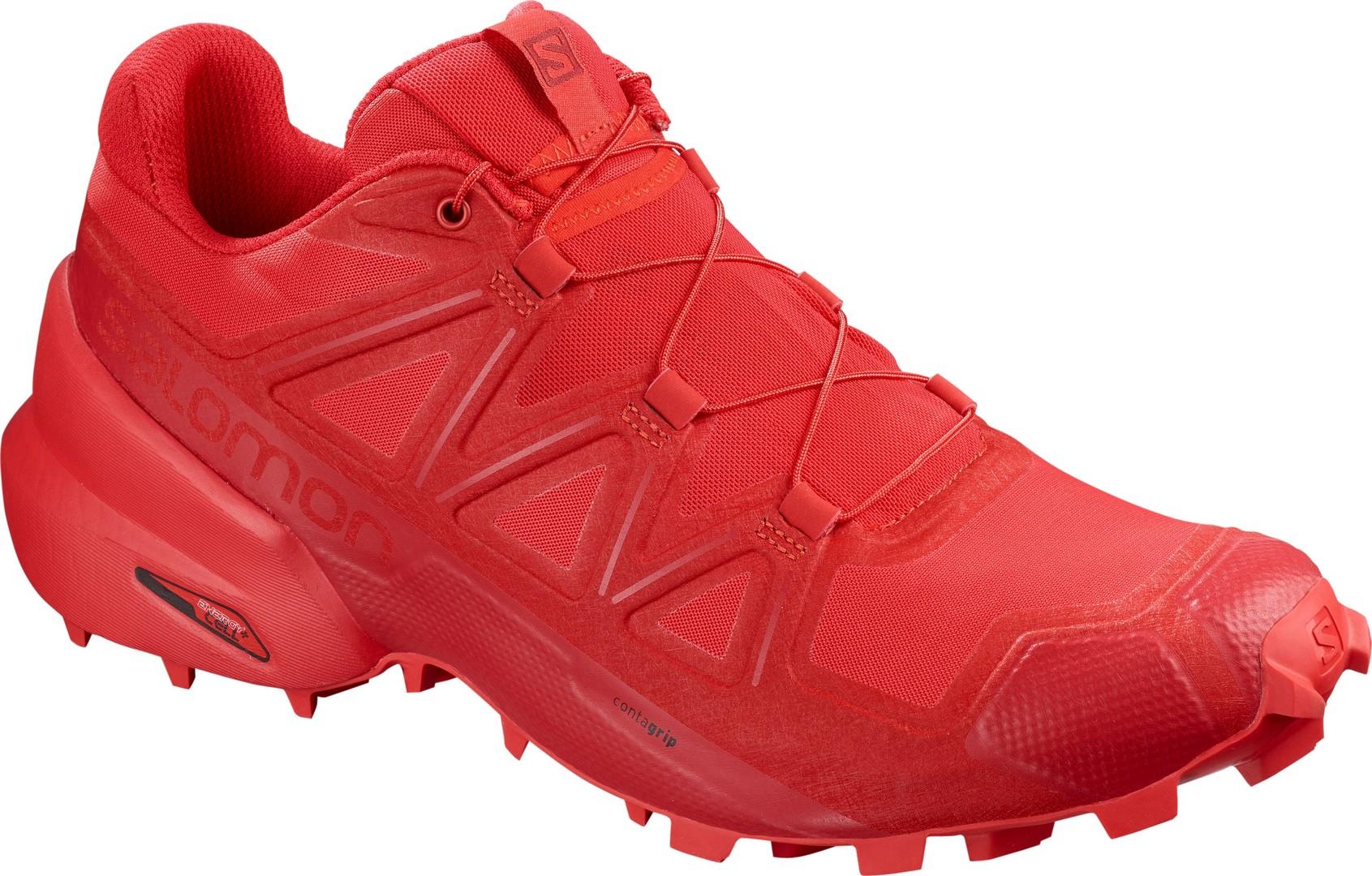 Salomon SPEEDCROSS 5, muške tenisice za trčanje, crvena