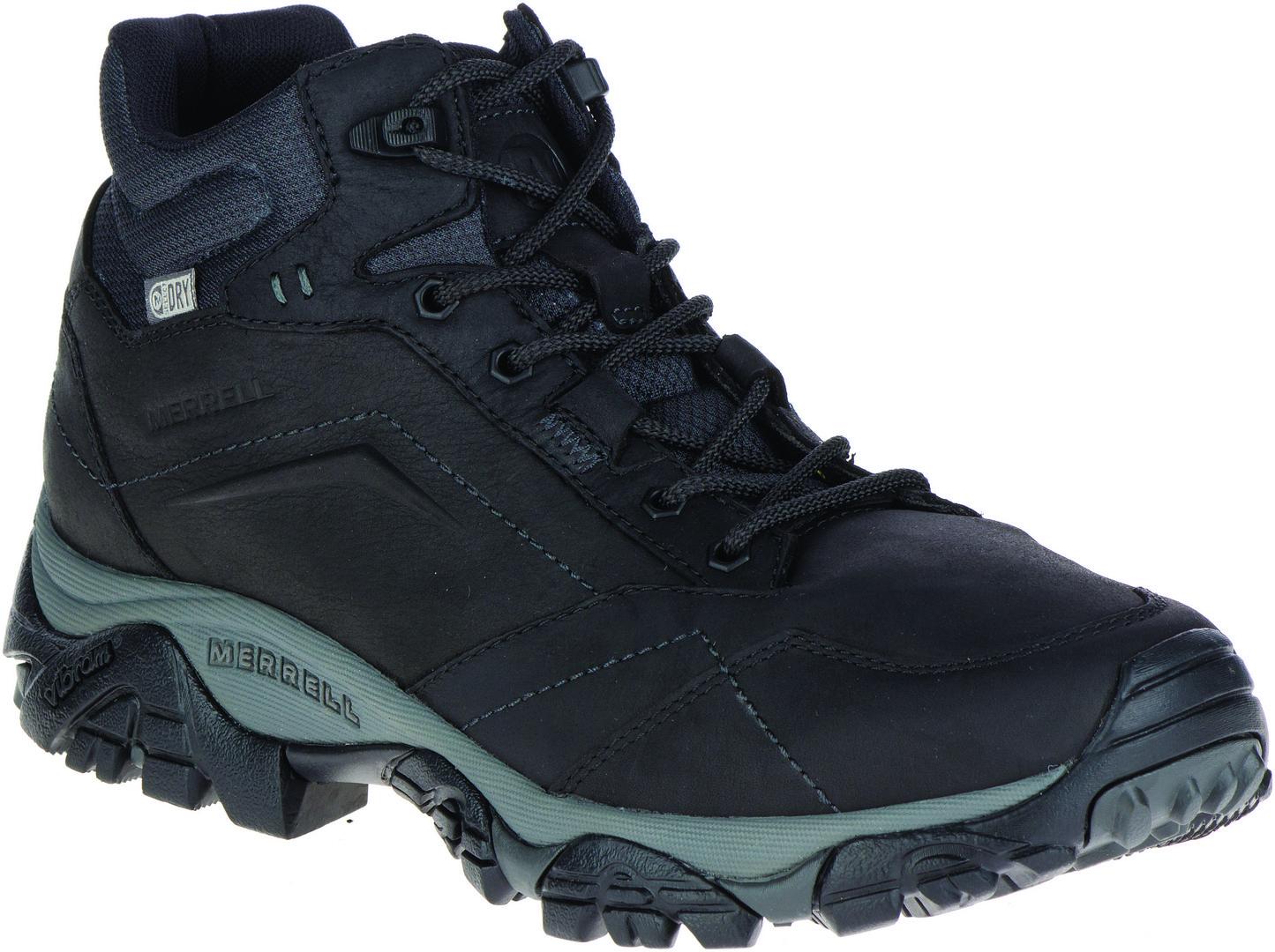 Merrell MOAB ADVENTURE MID WP, muške cipele za planinarenje, crna