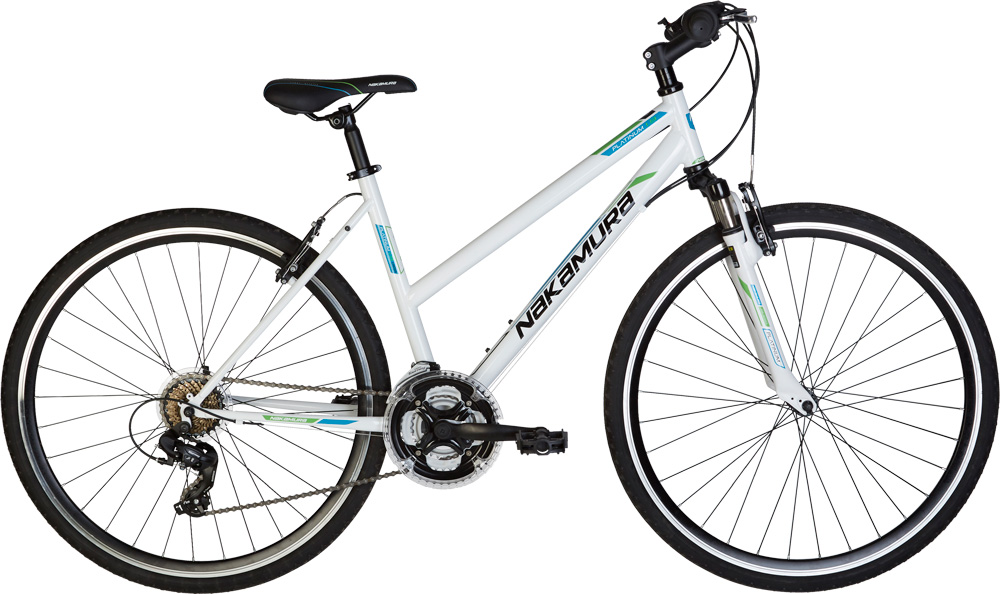 Nakamura PLATINUM 1.9 W, ženski treking bicikl, bijela