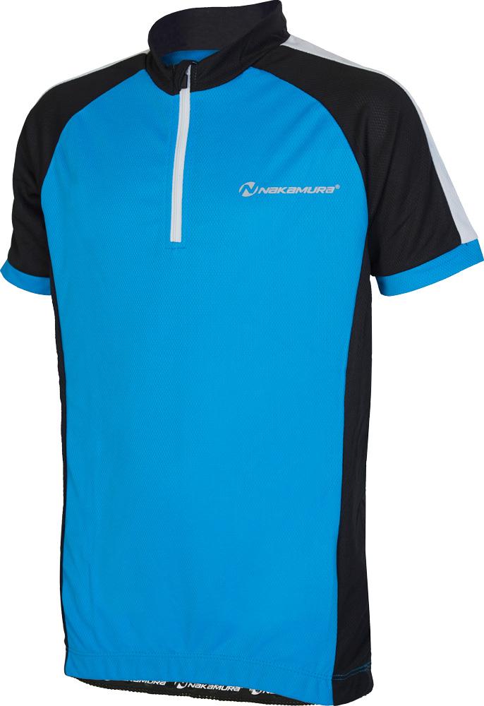 Nakamura ALLEN, dječja majica za biciklizam, plava