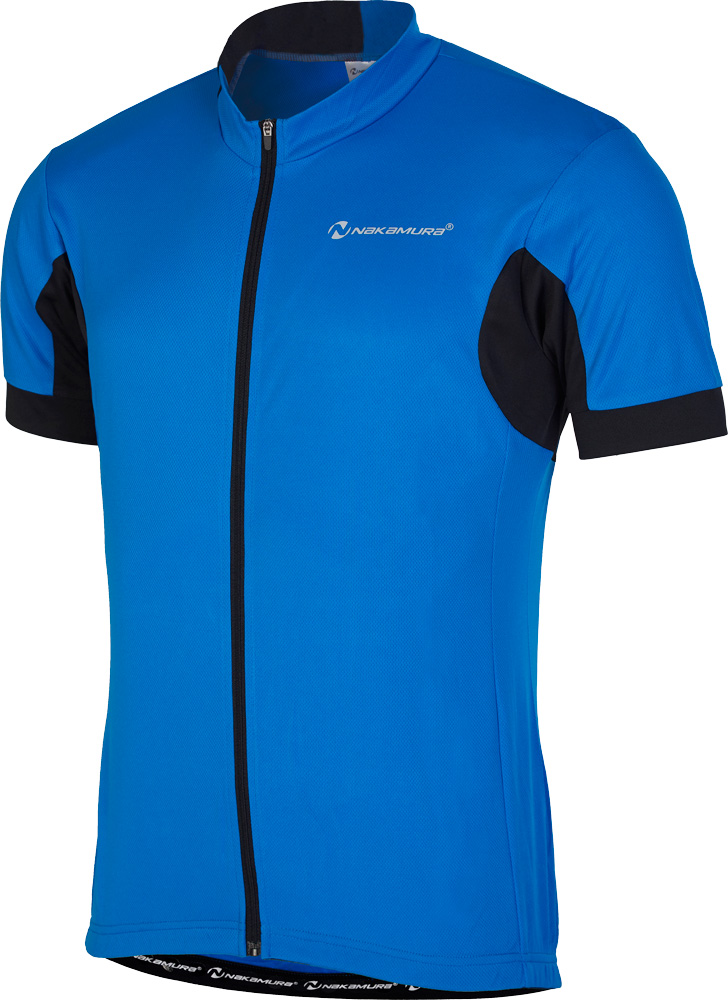 Nakamura BASICALLY, muška majica za biciklizam, plava