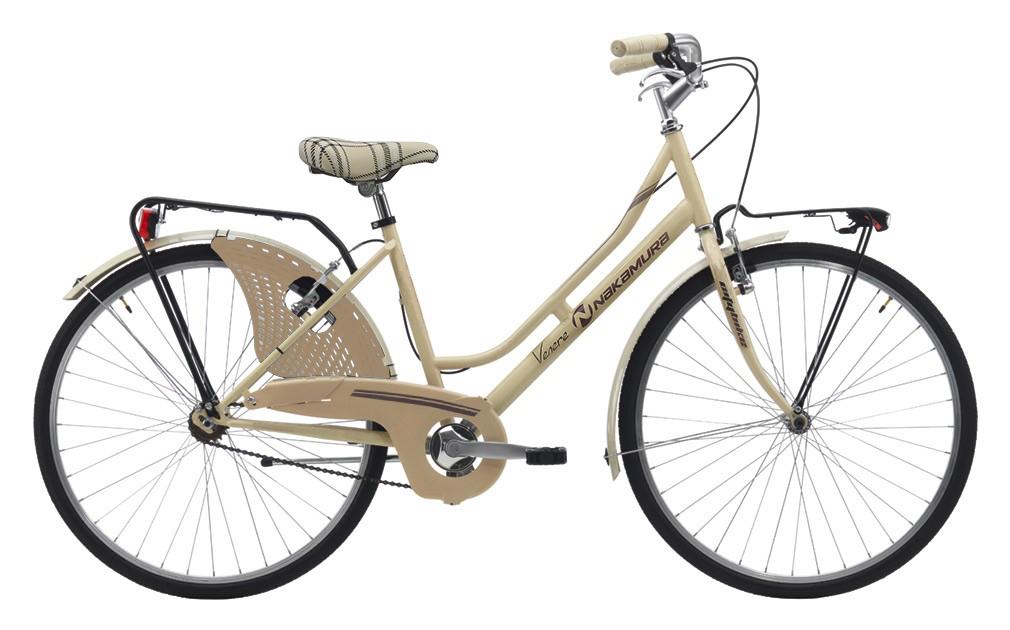 Nakamura FRIENDLY LADY, ženski  gradski bicikl, bež