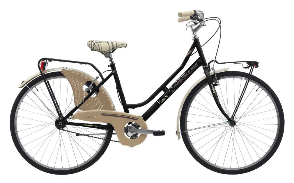 Nakamura FRIENDLY LADY, ženski  gradski bicikl, crna