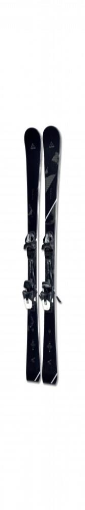 Fischer TRINITY WOMENTRACK+W9 AC SLR/WOMENTRACK BRAKE 78, set ženske skije, crna