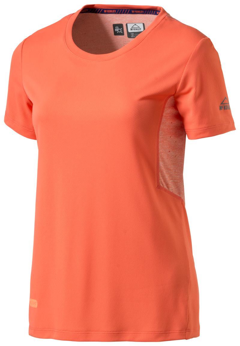 McKinley PONCA II WMS, ženska majica za planinarenje, crvena