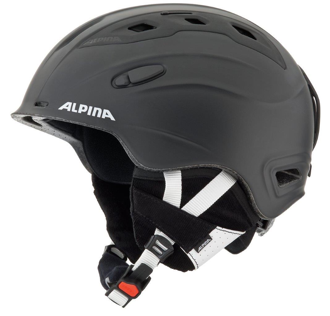Alpina SNOW MYTHOS, skijaška kaciga, crna