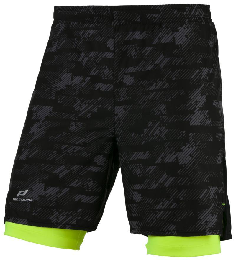Pro Touch STRIKO UX, muške kratke hlače za trčanje, crna