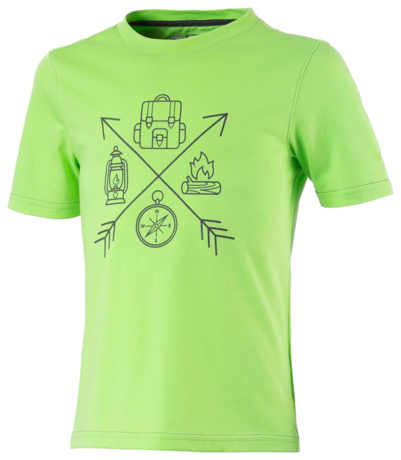 McKinley Zaba Jrs, dječja majica za planinarenje, zelena
