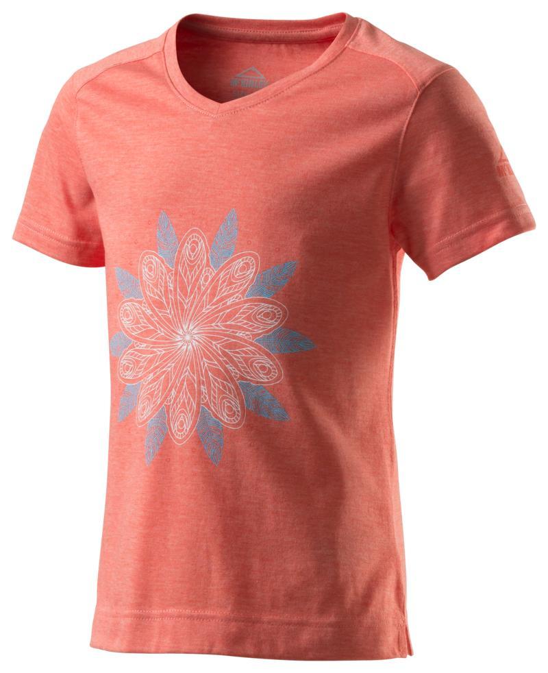 McKinley ZIYA GLS, dječja majica za planinarenje, crvena