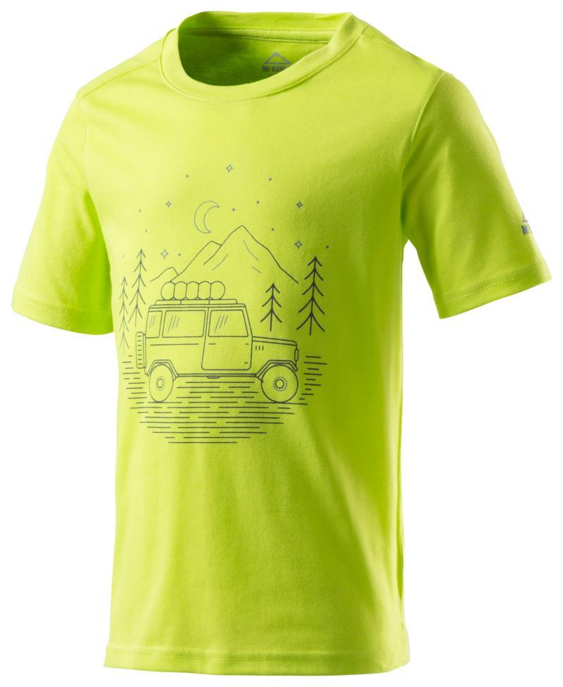 McKinley ZIYA JRS, dječja majica za planinarenje, zelena